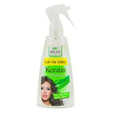 Лак для волос Пантенол + Кератин фирмы BIONE