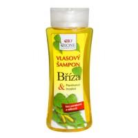 Шампунь для волос Береза + Пантенол фирмы BIONE