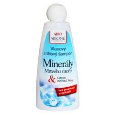 Шампунь для волос с минералами Мертвого моря фирмы BIONE
