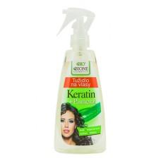 Восстанавливающий спрей для волос Пантенол + Кератин фирмы BIONE