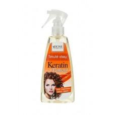 Жидкий спрей для волос Пантенол + Кератин фирмы BIONE