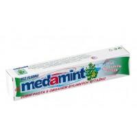 Зубная паста с пеной, не содержит фтор и красители MEDAMINT